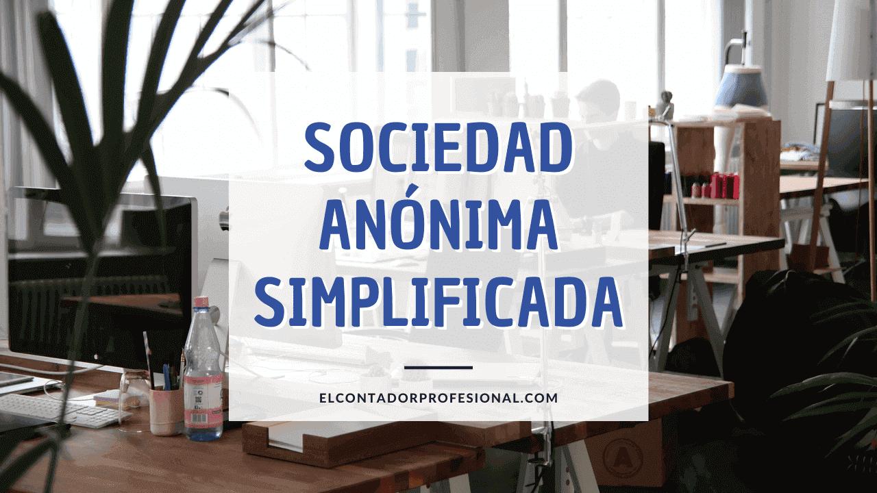sociedad anonima simplificada