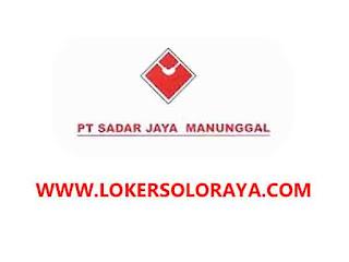 Loker Solo Staff Admin Kantor di PT Sadar Jaya Manunggal