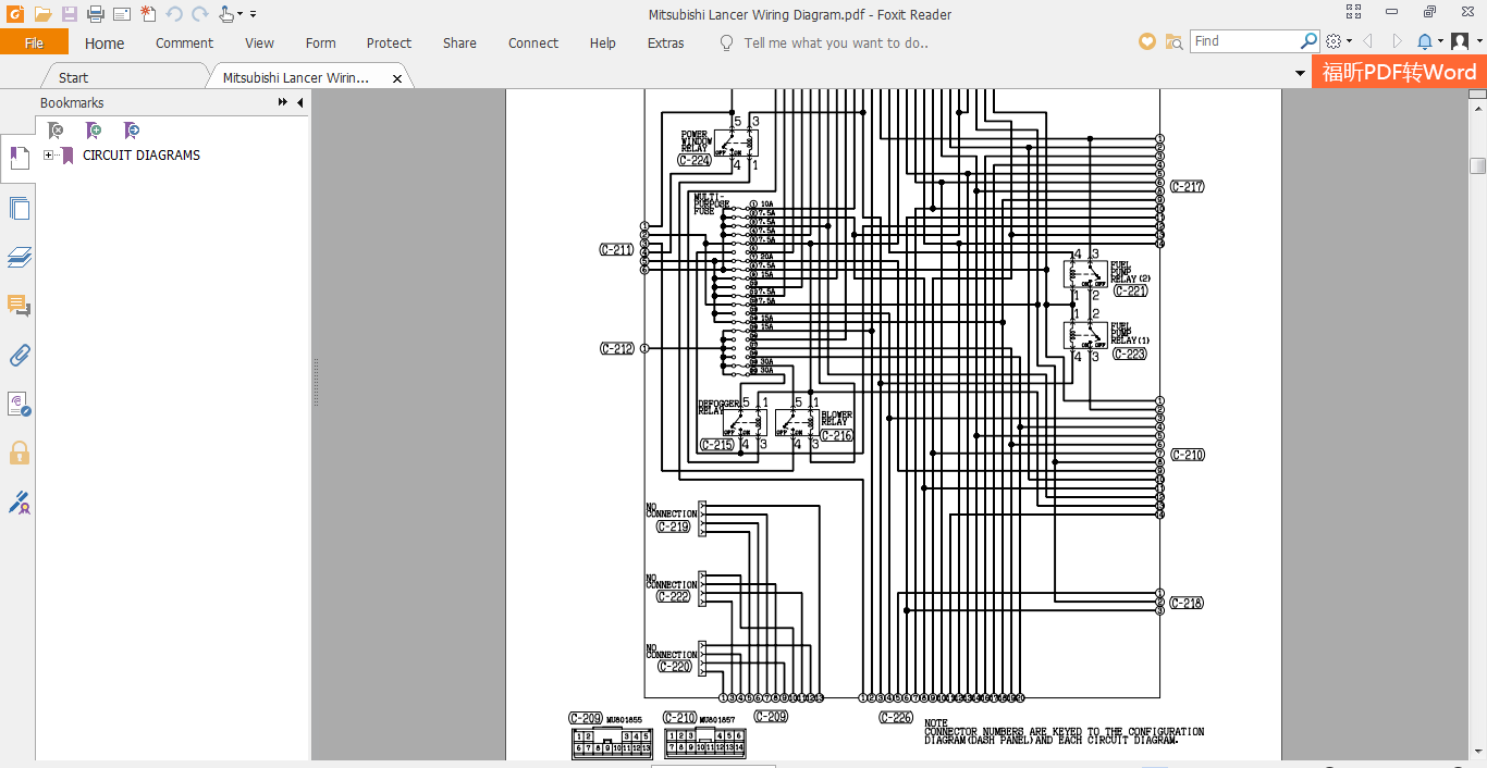 Mitsubishi Lancer Wiring Diagram