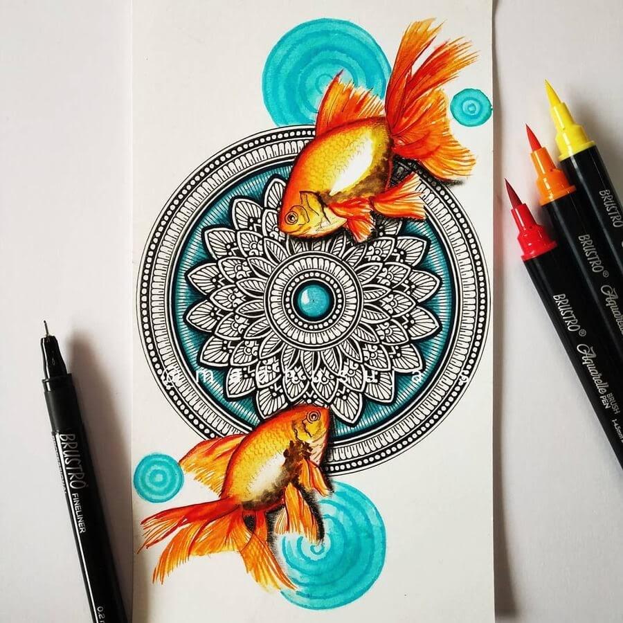 06-Goldfish symmetrical-image-Madhusuja-www-designstack-co