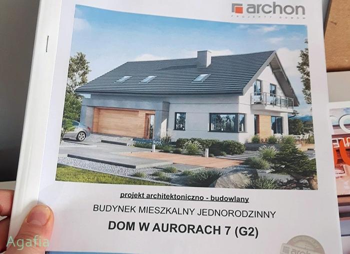 projekt architektoniczno - budowlany