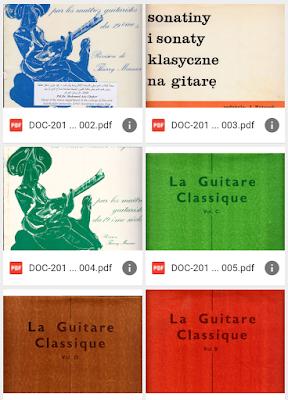 مجموعة قيمة من كتب تعلم الغيتار ( La Guitare ) في ملف واحد نسخة بي دي إف برابط مباشر