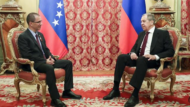 """Rusia apoya a Venezuela en su resistencia frente a """"la dictadura externa"""""""