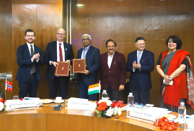 India-Norvey-Strengthen-Partnership-on-blue-economy