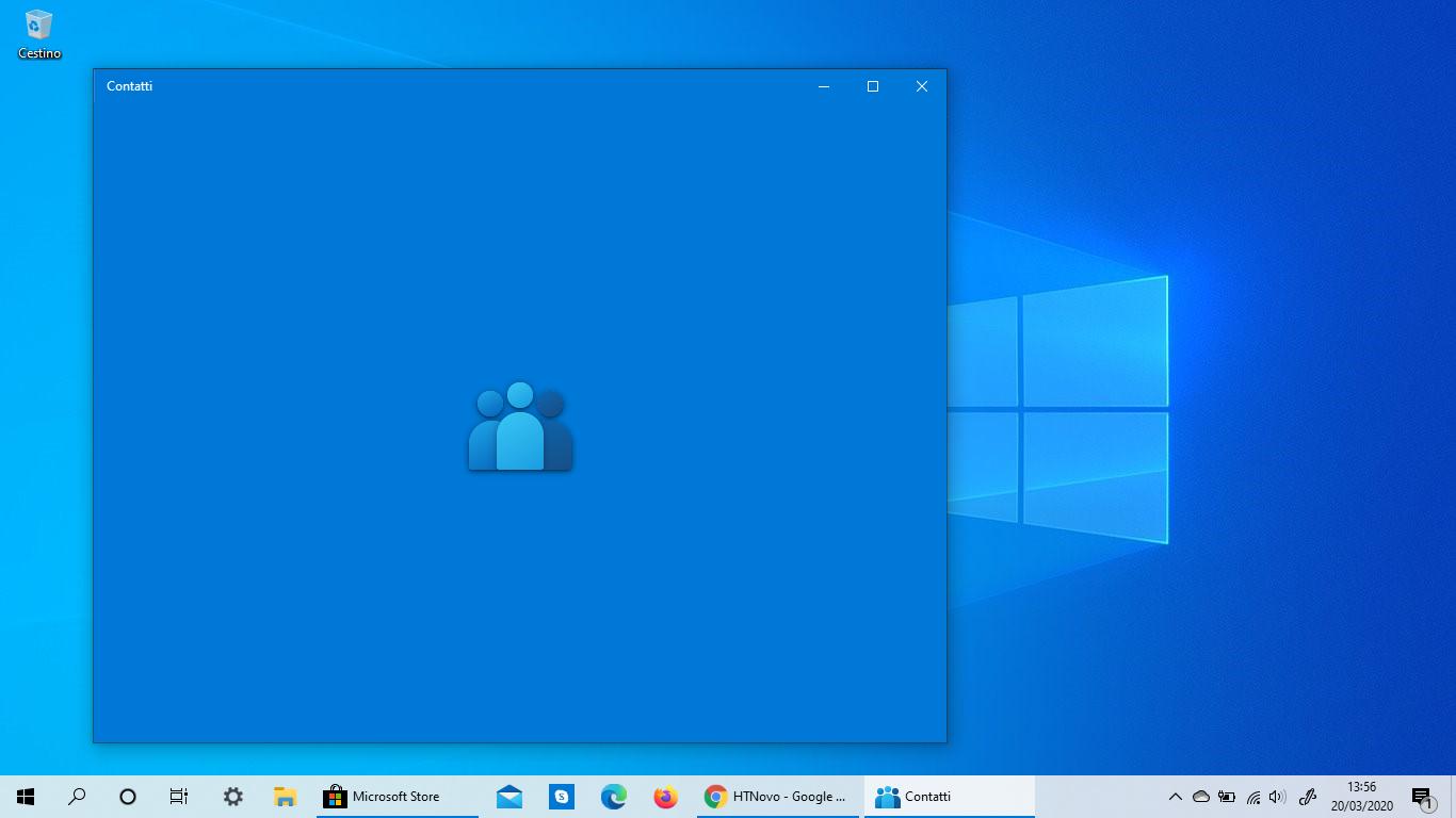 Anche Contatti Microsoft riceve la nuova icona in Windows 10