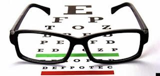Cara menjaga kesehatan mata.