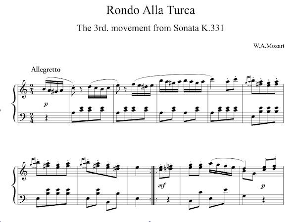Starting a Blog via Rondo Alla Turk