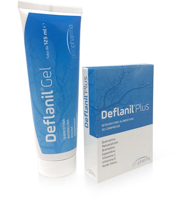 Deflanil Plus e Gel: campioni gratuiti