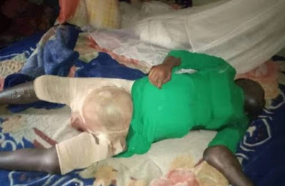 kano%2B2 - Police uncover corpse of girl locked up by husband in Kano [graphic photo]