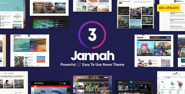 Jannah v3.2.0 - Theme tin tức đa năng, tốc độ cực nhanh