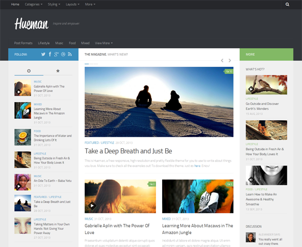 Top 6 Best Blogger and WordPress Theme