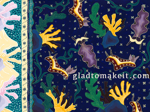 Batik Terumbu Karang