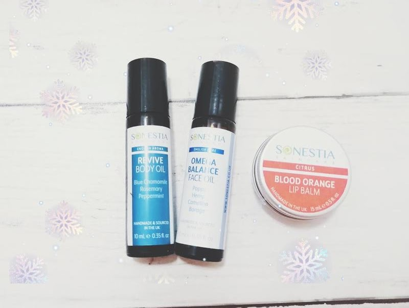 Omega Face Oil Roller, Revive Oil Roller & Blood Orange Lip Balm  review