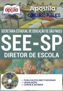 Apostila DIRETOR DE ESCOLA Concurso SEE SP 2017