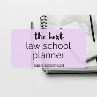 the best planner for law school. plum paper planner. law school supplies. law school planner. plum paper planner vs lilly pulitzer planner. plum paper planner vs kate spade planner. plum paper planner vs erin condren planner. plum paper planner review. lilly pulitzer planner review. kate spade planner review. erin condren planner review | brazenandbrunette.com