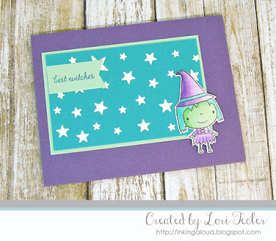 Best Witches card-designed by Lori Tecler/Inking Aloud-stamps from Reverse Confetti