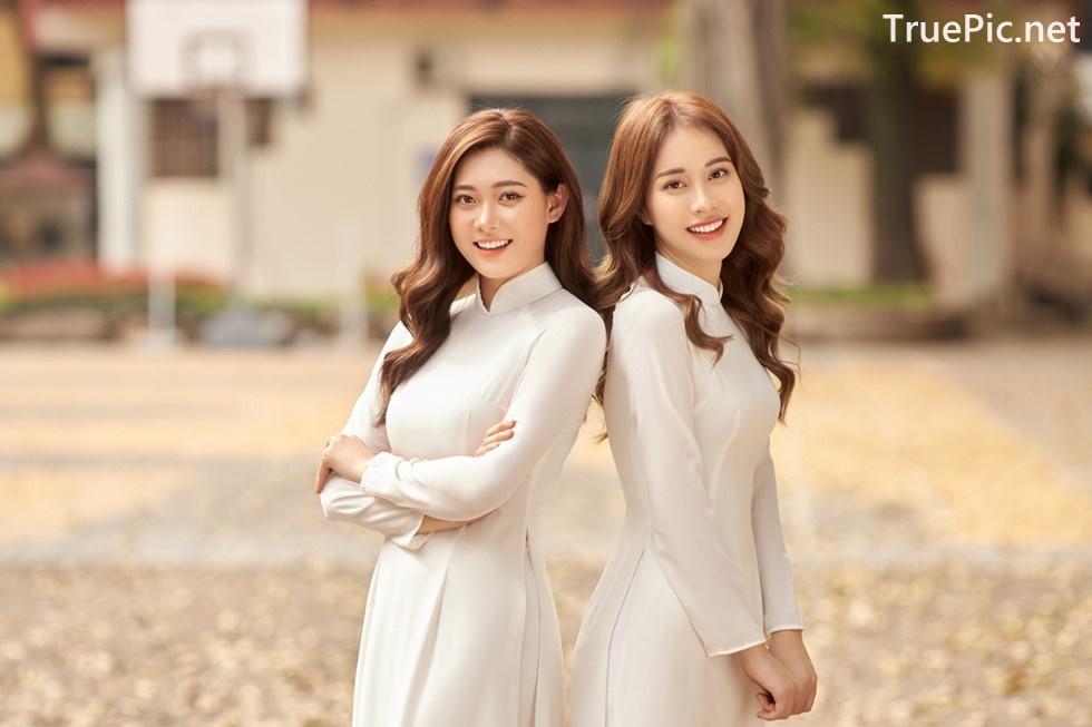 Image Vietnamese Model - Vietnamese Student Dresses (Ao Dai) - TruePic.net - Picture-10
