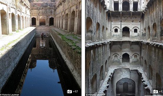 podzemlje u Indiji - fotografije