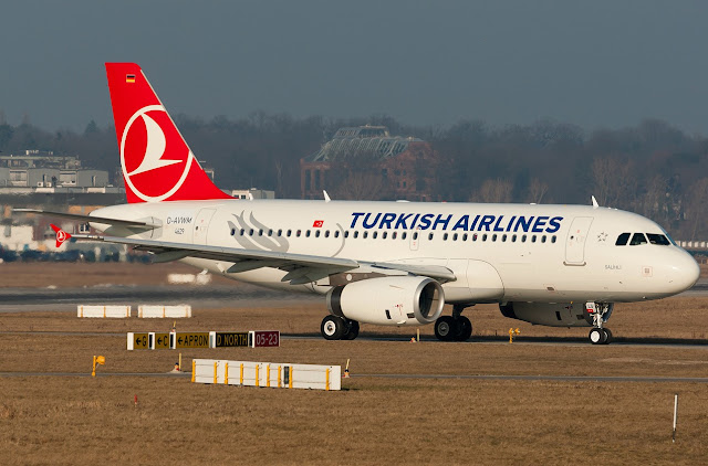 Turkish Airlines Airbus A319 D-AVWM