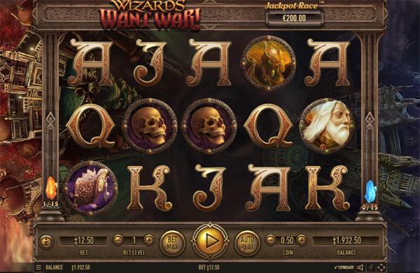 Main Gratis Slot Indonesia - Wizards Want War Habanero