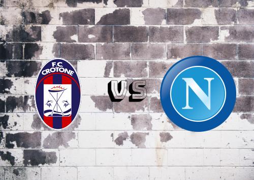 Crotone vs Napoli  Resumen y Partido Completo