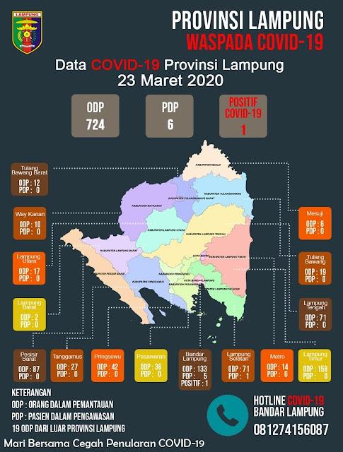Viral Petang (23/03/2020) BANDAR LAMPUNG ----- Gubernur Lampung Arinal Djunaidi akan mendengarkan pengarahan Presiden RI terkait Pandemi Covid-19, dalam video conference yang akan digelar besok, hari Selasa, 24 Maret 2020 pada pukul 09.30 WIB.