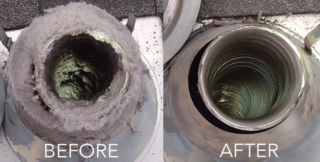 how to diy residential dryer vent cleaning toronto unclog lint