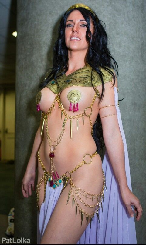 Jacqueline Goehner Cosplaying as Dejah Thoris - Princess of Mars