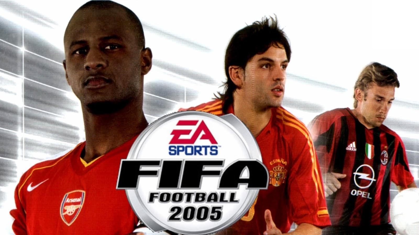 تحميل لعبة كرة القدم فيفا 5 - FIFA 2005