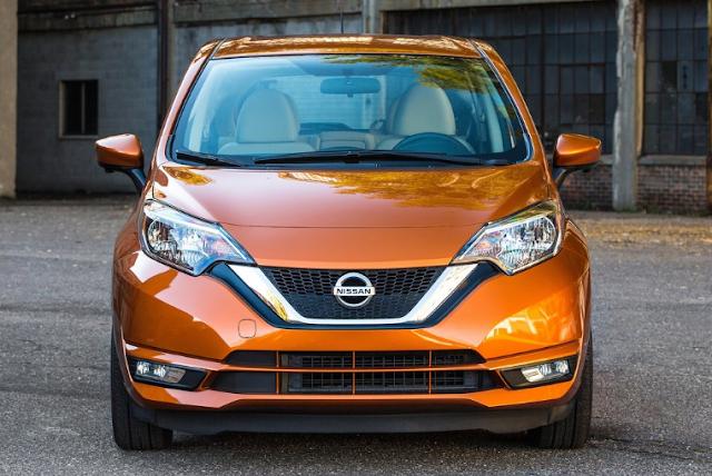 2018 Nissan Versa Note Front