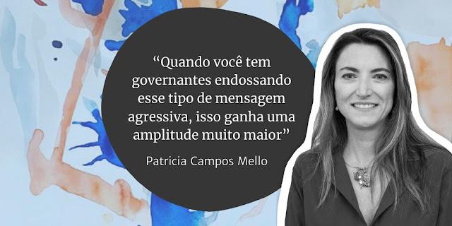 Clique na foto para ler entrevista exclusiva com Patricia Campos Mello