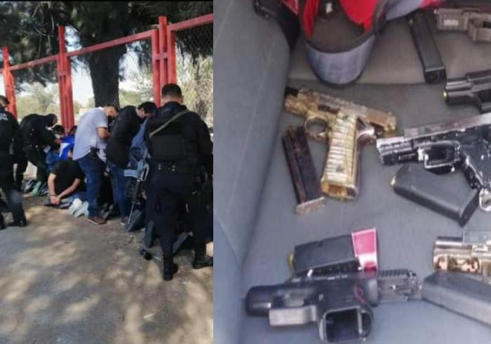 Capturan a grupo de Sicarios en Guadalajara que se preparaba para hacer una ejecución