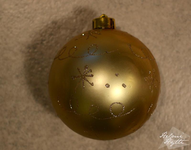 joulukuusenkoriste-tuunaus