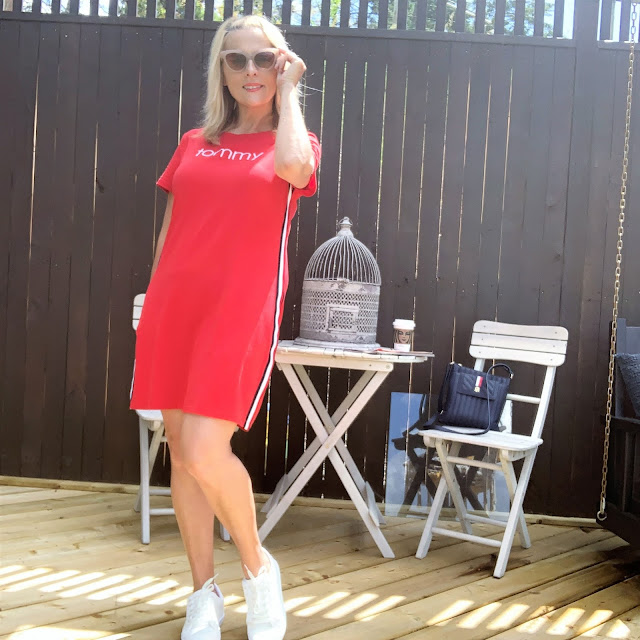Tommyhilgerdress, summerstyle, tommyhilfigertshirtdress