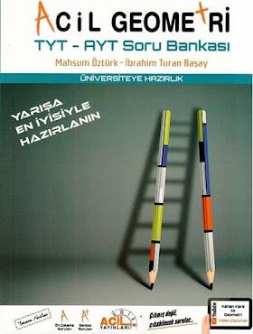 Acil TYT-AYT Geometri Soru Bankası