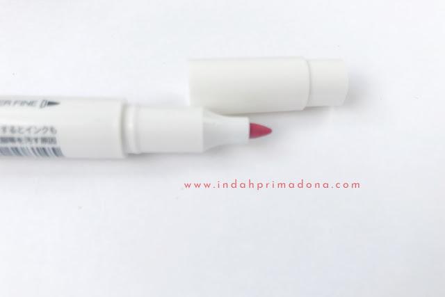 mildliner, mildliner highlighter, midliner brush pen, perbedaan mildliner highlighter dan brush pen, bullet journal, calligraphy, lettering