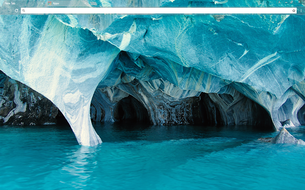 Blue Marble Google Chrome Theme