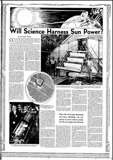 Article on solar power, 22 March 1942 worldwartwo.filminspector.com