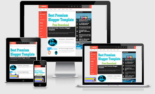 AMP News blogger template download