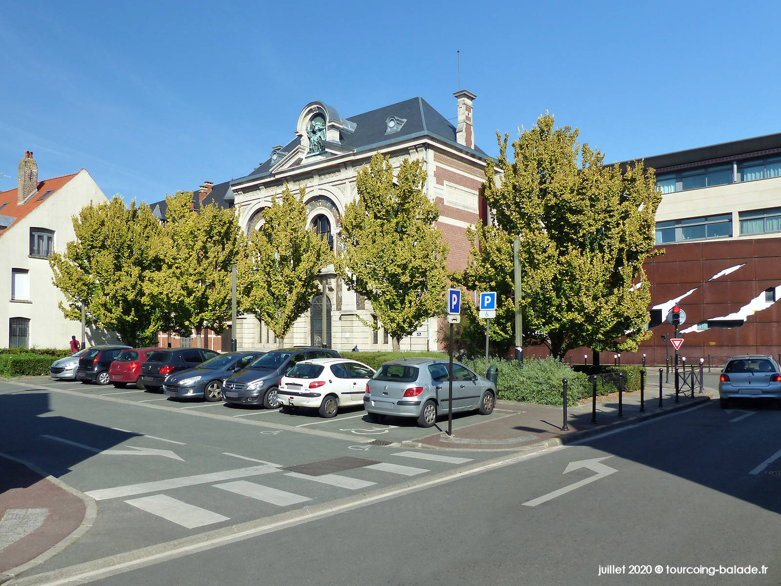 Square Gustave Doré, Tourcoing 2020