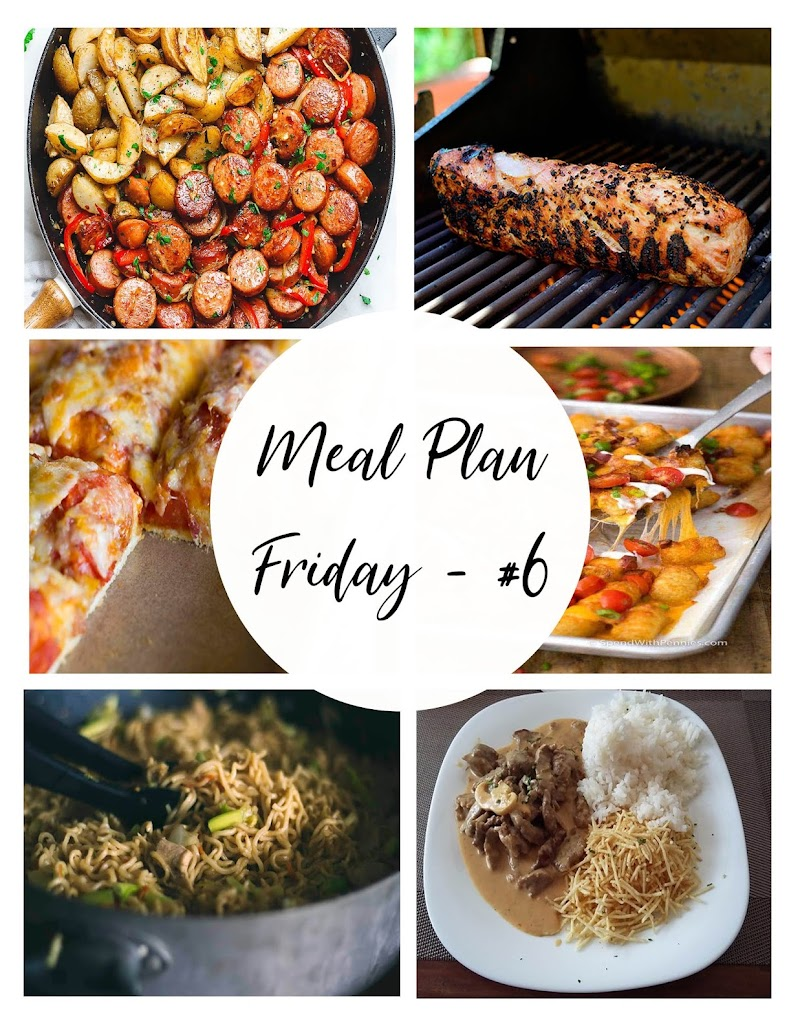 Meal Plan Friday #6