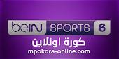 بث مباشر قناة بي ان سبورت 6 Bein Sports 6 live