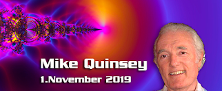 Mike Quinsey – 1. November 2019