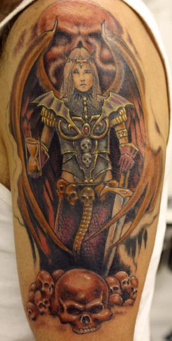 1887Tattoos Angel Tattoos For Men