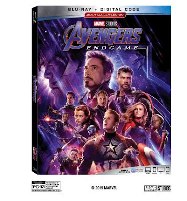 Avengers Endgame on Blu-ray