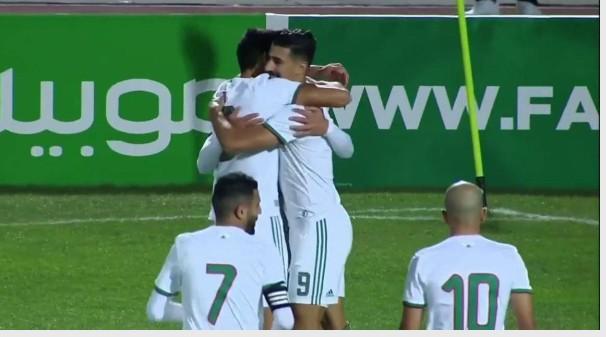 ملخص كامل عن مباراة الجزائر ضد زامبيا 5 / 0