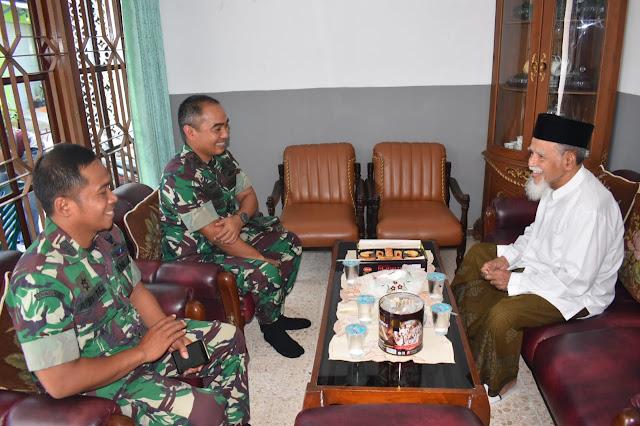 Komandan Kodim 0716 Demak Silaturahmi Ke Ketua MUI
