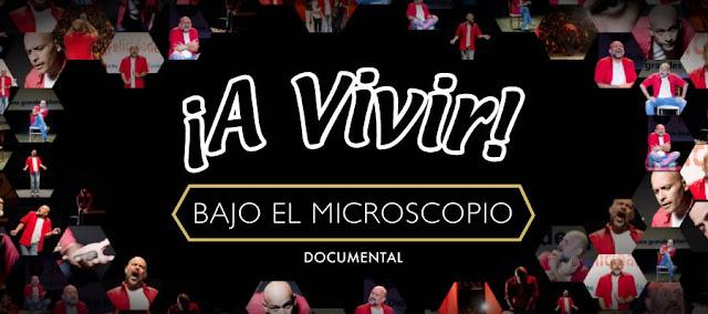 """Odín Dupeyrón presentará el documental """"¡A Vivir! Bajo el microscopio vía streaming"""