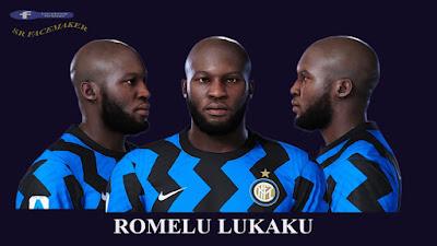 PES 2021 Faces Romelu Lukaku by SR