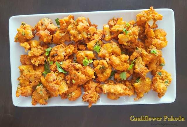 images of Cauliflower Pakoda / Gobi Pakora / Cauliflower Pakora / Gobhi Ke Pakode / Indian Cauliflower Fritters